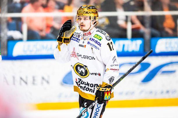 Ville Leskinen iski hirmutehot kärppäpaidassa päättyneellä kaudella.