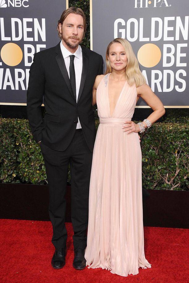 Dax Shepard ja Kristen Bell ovat molemmat näyttelijöitä.