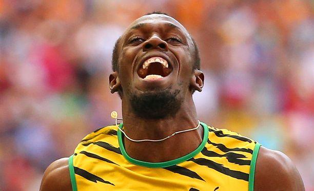 Usain Boltilla on voittanut pelkästään MM-kisoissa kahdeksan kultamitalia.