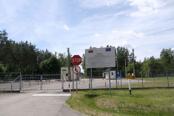 Rajanylityspaikka Liettuan Rakain ja Valko-Venäjän Petjulevcin välillä.