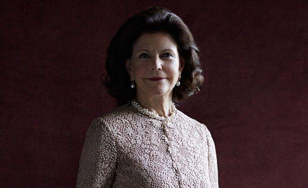 Ruotsin kuningatar Silvia.