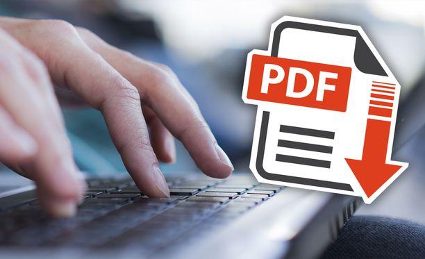 Moni lähettää CV:n PDF-muodossa.