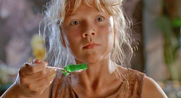 Tältä Ariana Richards vuonna 1993 Jurassic Park -elokuvassa.