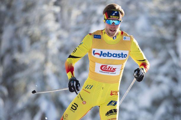 Joni Mäki on MM-viestin ankkuri ja Suomen ykköspyssy sprintissä.