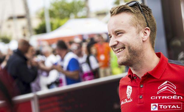 Mads Östberg on iloinen siitä, että sai ajopaikan loppukaudelle.