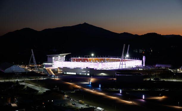 Pyeongchangin olympiastadionilla järjestetään kisojen avajaiset ja päättäjäiset.