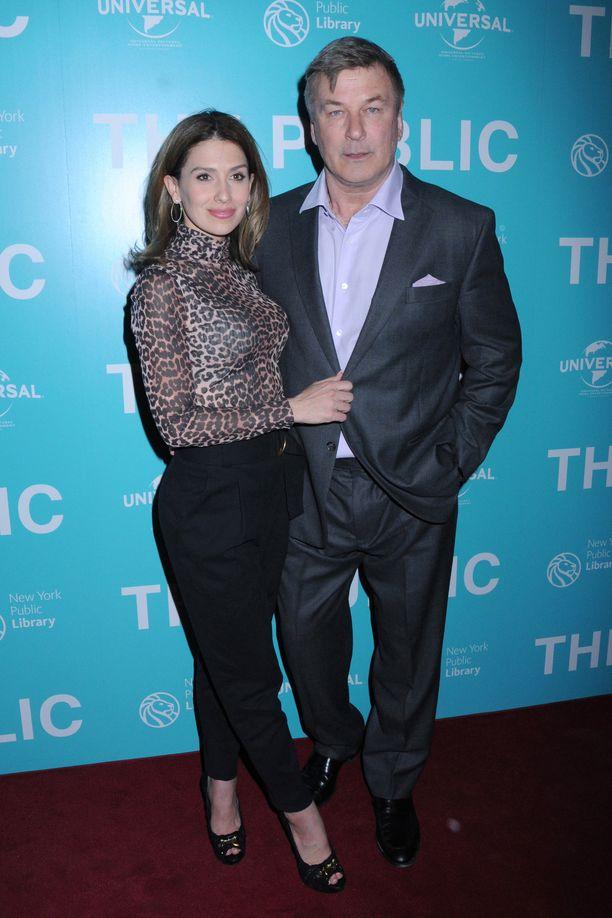 Hilaria ja Alec Baldwinilla on jo neljä yhteistä lasta.