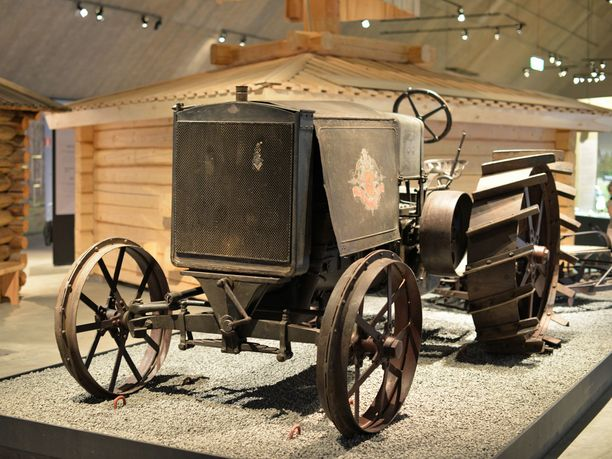 Kullervo-traktori maatalousmuseo Sarassa Loimaalla.