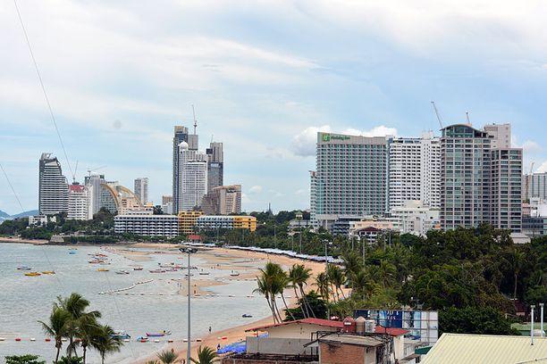 Henkirikos tehtiin Pattayan lomakohteessa keskellä päivää.