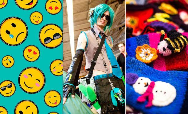 Suomen kielen sanakirja saa taas uusia sanoja. Nyt mukaan pääsevät muun muassa emoji, cosplay ja hypistelymuhvi.