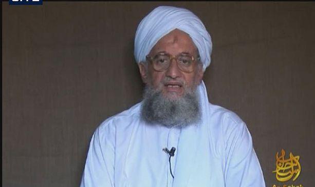 Al-Qaidan johtaja Ayman al Zawahiri.