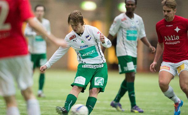 Petteri Forsell pelasi torstaina Dubaissa ja lauantaina Talin hallissa Helsingissä.