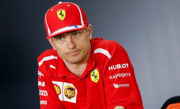 Kimi Räikkönen ihmetteli Ferrari-pomon kuntoarviota.