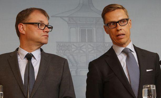 Keskustan Juha Sipilä ja kokoomuksen Alexander Stubb ovat vierailleet itänaapurissa vähemmän kuin edeltäjänsä.