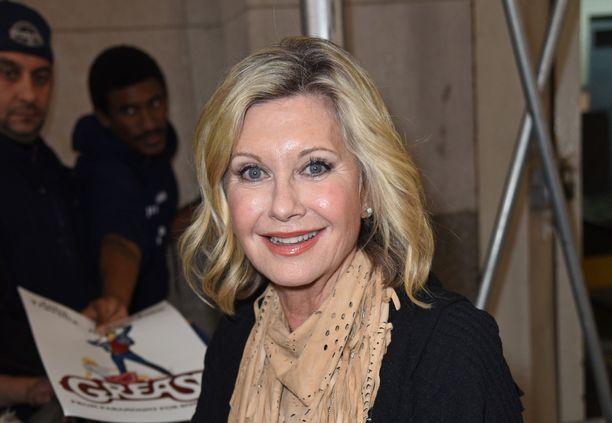 Olivia Newton-John, 72, on arvostettu laulaja-näyttelijä.