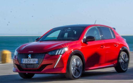 Ensitestissä uusi Peugeot 208: Myös täyssähköversio tarjolla heti kättelyssä