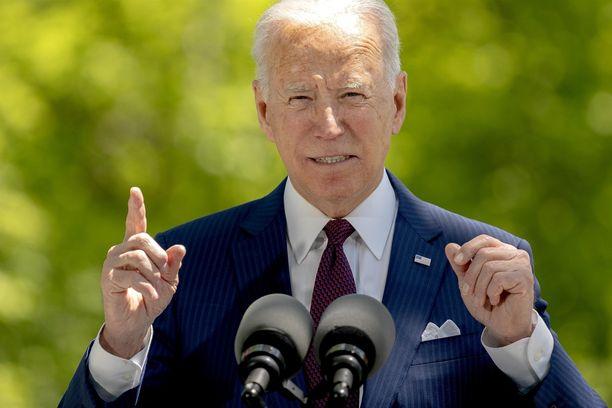 Presidentti Joe Biden uudistaa USA:ta urakalla.