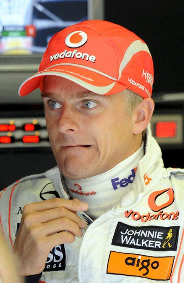 Heikki Kovalainen joutui puremaan hammasta katsoessaan aika-ajotuloksia.
