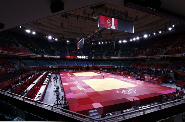 Fethi Nourinea ei nähdä Tokion olympialaisissa. Kuvituskuva.
