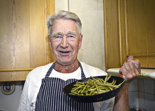 Tv-kokki Veijo Vanamo oli kuollessaan 91-vuotias.