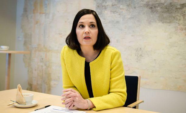 Opetus- ja kulttuuriministeri Sanni Grahn-Laasonen (kok).