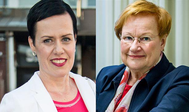 Maarit Feldt-Ranta on saanut valtavasti viestejä sosiaalisessa mediassa. Jopa presidentti Tarja Halonen lähetti terveisensä.