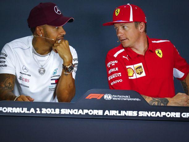 Lewis Hamilton uskoo, että kuljettajat voivat vaikuttaa F1-sarjan tulevaisuuteen. Kimi Räikkönen ei usko.