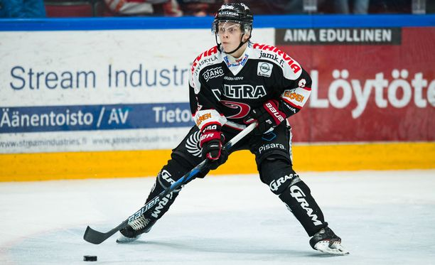 JYPin Anttoni Honka tarjoili upean syötön Juha-Pekka Hytösen 2-1-maaliin.