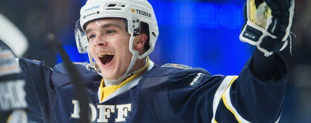 Otso Rantakari rikkoi Liigan tulokaspuolustajien maaliennätyksen.