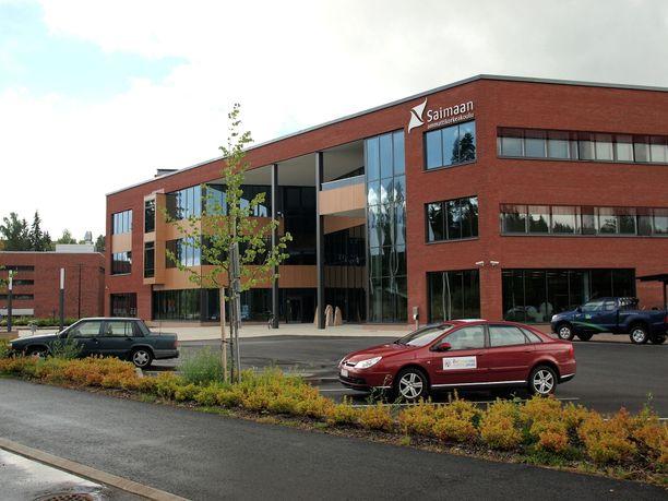 Saimaan ammattikorkeakoulun päärakennus Skinnarilan kampuksella.