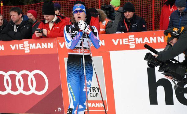 Anne Kyllönen oli Tour de Skin toiseksi paras suomalainen.