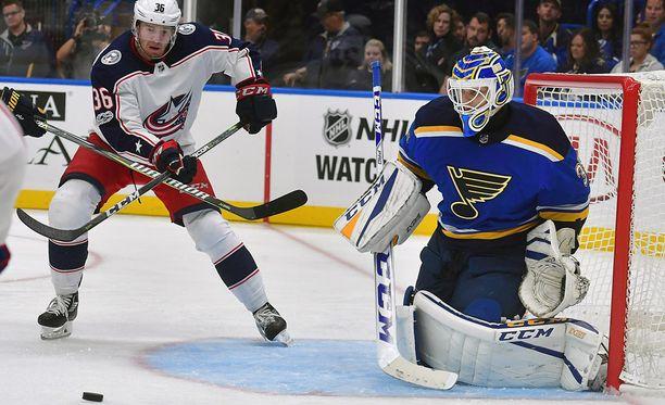 Ville Husso on pelannut lupaavasti. Nähdäänkö NHL-debyytti tällä kaudella?