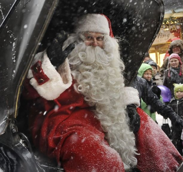 Oulussa punanutun voi tilata vieraaksi joulumuorin kera.