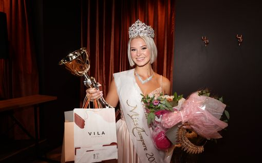 Matilda Wirtavuori on uusi Miss Tampere!