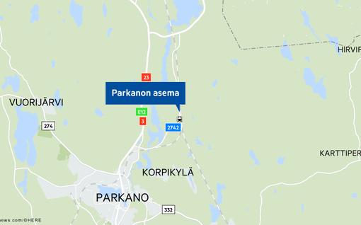 Iso poliisioperaatio Parkanossa, aseman läheltä löytyi ruumis - Neljää epäiltyä esitetään vangittavaksi