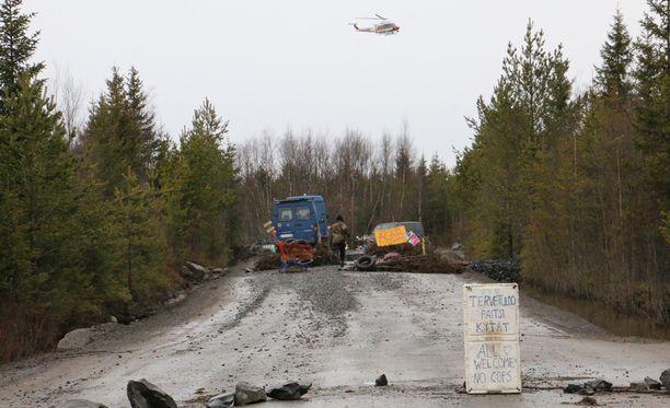 Toinen mahdollinen loppusijoituspaikka on Pyhäjoki, jonne protesteja herättänyt ydinvoimala rakennetaan.
