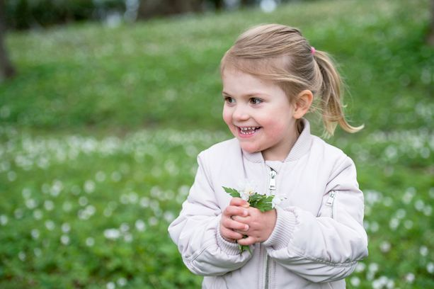 Silvian vanhin lapsenlapsi Estelle täyttää helmikuussa neljä vuotta.