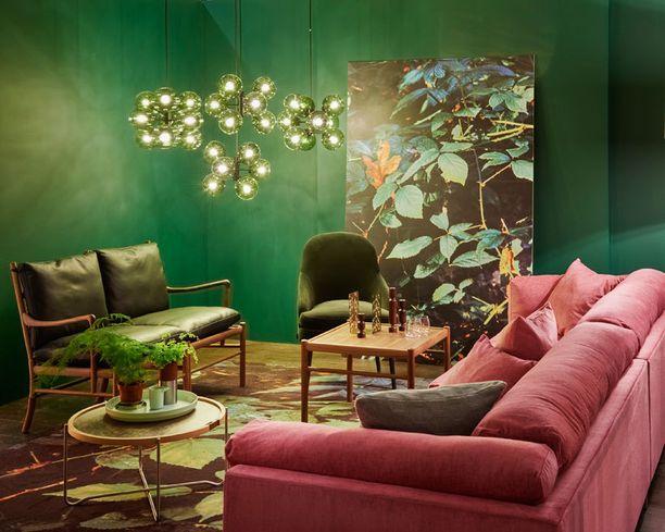 Samassa huoneessa voidaan nyt käyttää erilaisia värejä ja tyylejä.