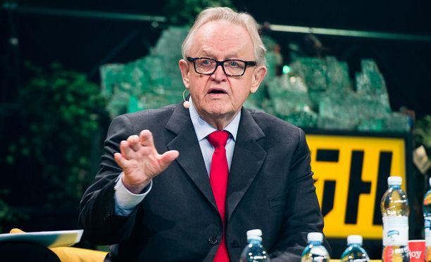 Ahtisaari toivoo, että Suomi käyttäisi selvästi nykyistä enemmän kehitysyhteistyövaroja muualta tulevien kouluttamiseen Suomessa.