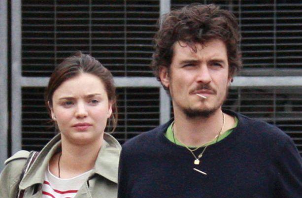 Näyttelijä Orlando Bloom ja malli Miranda Kerr ovat menneet kihloihin.