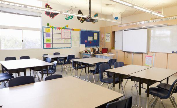 Salolaiseen kouluun murtauduttiin neljä kertaa saman viikonlopun aikana. Kuvituskuva.