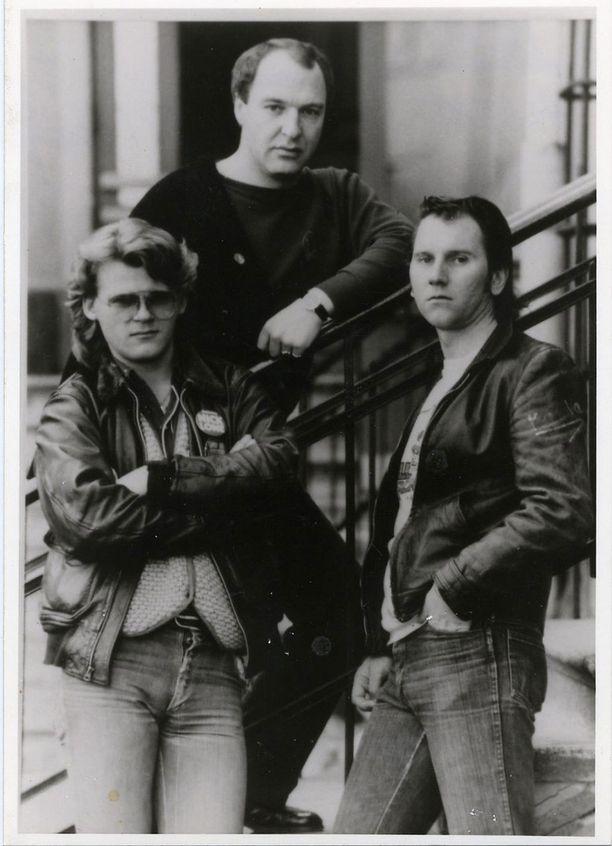 Hurriganes-yhtye vuosien takaa.