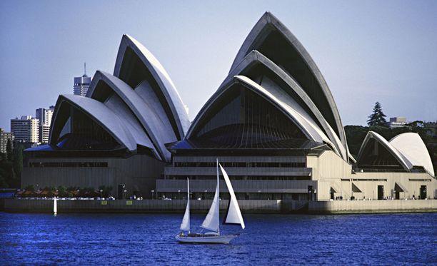 Sydney tarjoaa ruskettuneita lohduttajia.
