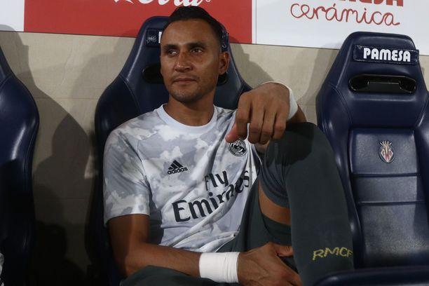 Keylor Navas istui vielä syyskuun alussa Real Madridin vaihtopenkillä.