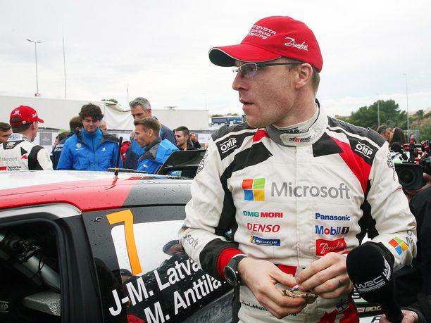 Jari-Matti Latvala haluaa päättää ailahdellen sujuneen kauden onnistumiseen.