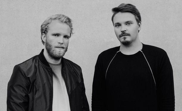 Jon-Jon Geitel ja Roope Salminen ovat molemmat myös näyttelijöitä.