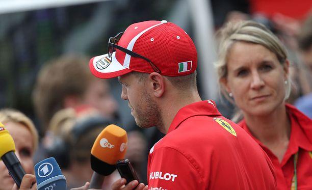 Sebastian Vettel myönsi oman virheensä.