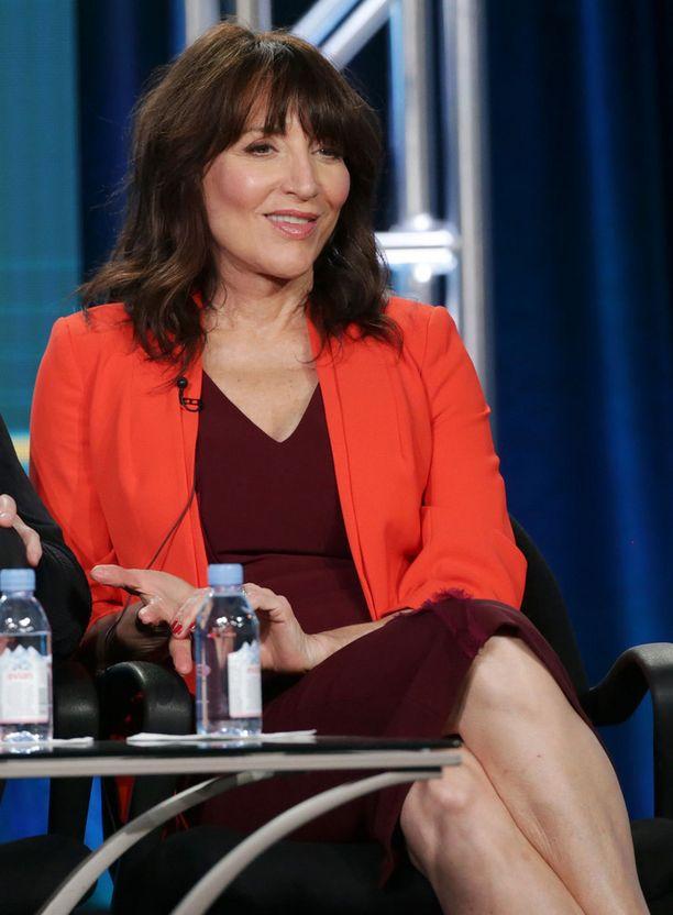 Katey Sagal nähtiin tammikuun alussa CBS-kanavan paneelissa.