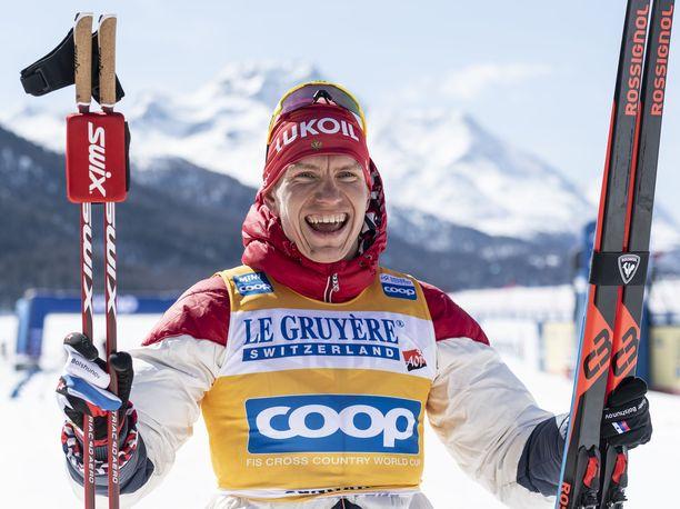 Aleksandr Bolshunov voitti hiihdon maailmancupin viime kaudella.