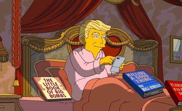 Simpsonit kritisoi rajusti Donald Trumpia tämän saavutuksista ensimmäisenä satana päivänä Yhdysvaltain presidenttinä.